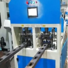 Double station holes profile channel punching machine